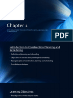 Chapter 1 Introduction - Planning