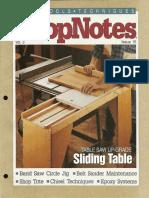 ShopNotes #15 (Vol. 03) - Sliding Table.pdf