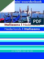 Italiaans Nederlands Nederlands Italiaans Mini woordenboek.pdf