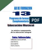 9 Educacion Musical Cuadernillo Llenado