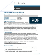 Jul PD - Multimedia Support Officer #563403