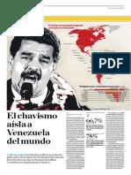 Chavismo Aísla a Venezuela Del Mundo