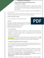 10.Especificaciones Tecnical Coliseo Marcelo Quiroga Santa Cruz