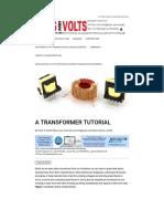 Transformer Tutorial