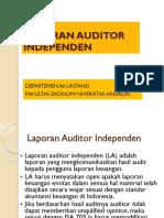 Laporan Auditor Independen