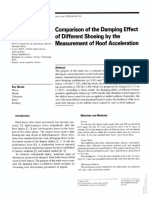 Comparison of the Damping Effect of Different Shoeing by the Measurement of Hoof Acceleration