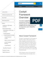Cockpit Framework Overview