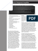 Data Sheet - C 352 Stereo Integrated Amplifier