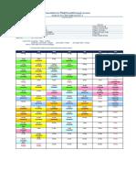 Timetable HKU 2017