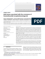 Risk factors associated with the occurrence of frontoethmoidal encephalomeningocele