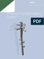Proximal Humeral Nailing System