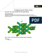 Example on simulating woven fibers using BEAM188 and CONTA176.pdf