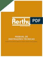 Manual de Instruções Técnicas - Rerthy