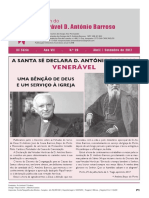 Boletim n.º  XX do Venerável D. António Barroso