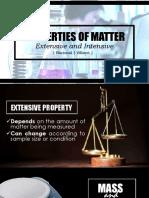 Extensive and Intensive Properties Final