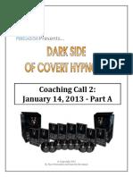 DSCH CoachingCall 01-14-2013 PartA Transcript