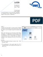 OWC Drive Guide Software Setup r3