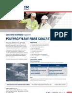 Concrete 1 Ds Poly Fibre