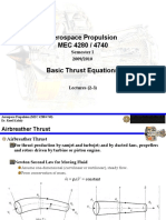 Aerospace Propulsion Lec 2 5 Thrust
