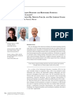 Minimally Invasive Dentistry and Responsible Esthetics