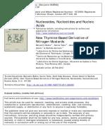 2012 - New Thymine-Based Derivative of Nitrogen Mustards