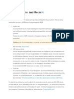 Authorizations and Roles(BPM)