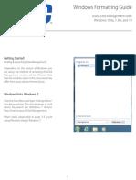 Windows Formatting W7-10