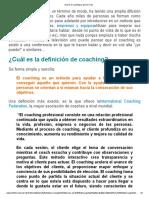 1.-Qué Es El Coaching (y Qué No Lo Es)