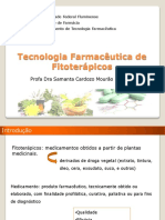 Palestra 10-Tecnologia Farmacêutica de Fitoterápicos - UEZO
