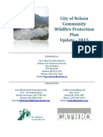 Nelson Community Wildfire Protection Plan