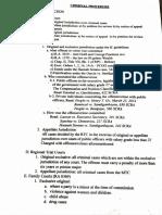 Criminal Procedure Syllabus