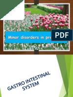 Minor Disorders in Pregnancy