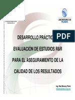 Pre-Desarrollo Práctico y Evaluación de Estudios Rr Hyk de Mandel