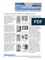 A Guide to Disconnect Switches for Ventilation Products