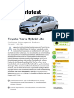 Toyota Yaris Hybrid Life - ADAC