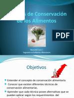 Micro Clase Técnicas de Conservación de Los Alimentos