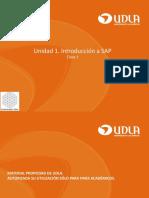 Semana 1_Unidad 1. Introducción SAP