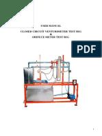 Venturi and Orificemeter