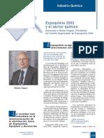 394-137 Expoquimia 2002 y El Sector Químico