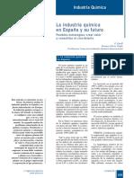 394-163 La Industria Química en España y Su Futuro