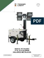 Torres de Iluminación Generac VT 8 Perkins 60Hz E TL131 01-14-00