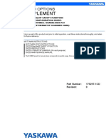 DX200 Options Supplement for ETHERNET-IP Safety Function (Router Configuration Guide ROCKWELL GUARDLOGIX PLC)
