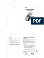 Ar600e English Manual