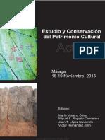 Estudio y Conservación Del Patrimonio Cultural; Actas