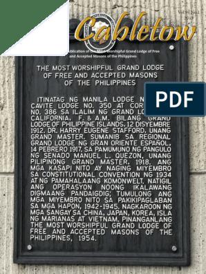 Cabletow Ancom Issue 2017 version 2   Freemasonry   Masonic