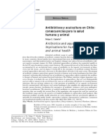 Antibióticos y Acuicultura en Chile, Consecuencias Para La Salud Humana y Animal