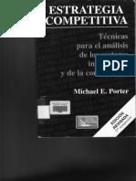 Estrategia Competitiva , Porter