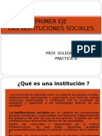 Las Instituciones Sociales Completa