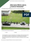 07-07-17 ¿Qué postura debe tomar México ante la crisis política y social en Venezuela_ _ Publimetro México