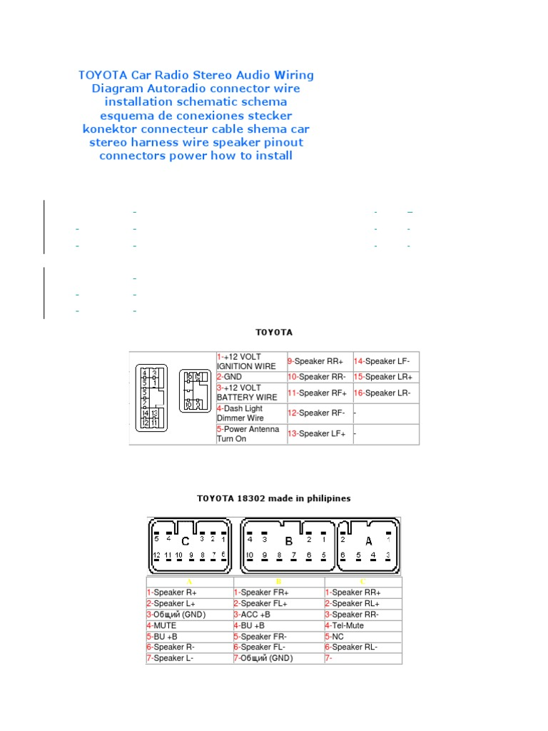 Colorful Fujitsu Ten Wiring Diagram Festooning - Best Images for ...